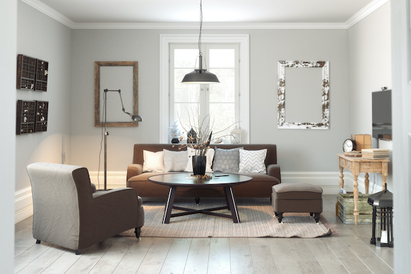 a smart furniture layout can make your room feel bigger or smaller